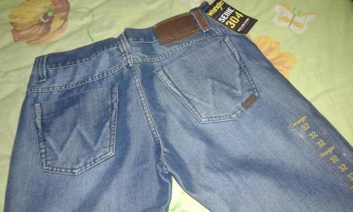 jeans wrangler original serie 304, talla 32