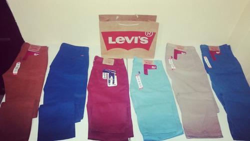 jeans y pantalones levi's nuevos y originales 505 y 550!!