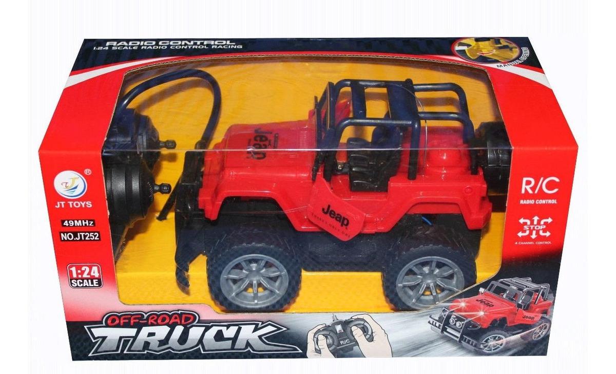 Niños Radio Control Jt252 Jeap Carro Juguete Camioneta xoedBC