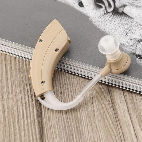 jecpp mini audífono kit ajustable tono detrás del oído ampli