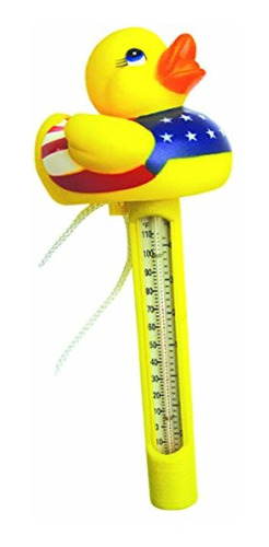 jed pool tools 20-206-d usa flotante duck thermometer