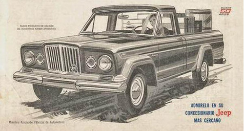 jeep 70 camioneta