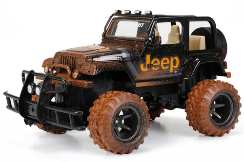 jeep a control remoto escala 1:15 frecuencia de 2.4 ghz