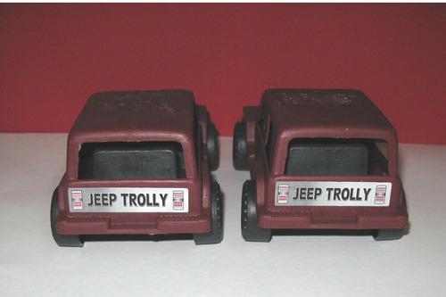 jeep antigo rallye trolly lote