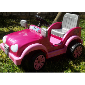 Jeep Auto A Bateria Barbie