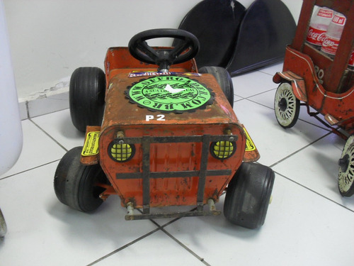 jeep bandeirantes de lata original pedal car