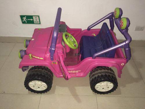 jeep barbie de niña power wheels (ver precio en descripción)
