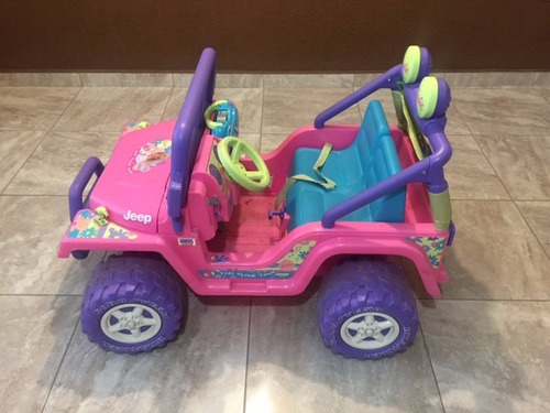 jeep barbie power wheels