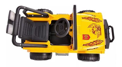 jeep camioneta auto bateria wrangler 12v rodacross 4a9 años