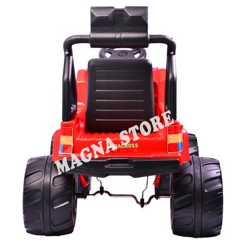 jeep camioneta auto pedal pick up brutus 4a9 años rodacross