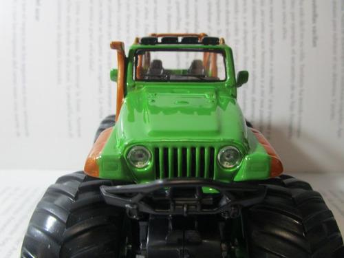 jeep campero rubicon 4x4 metalico escala 11cm coleccion
