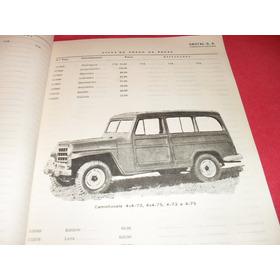 Jeep Catalogo  Original De Peças