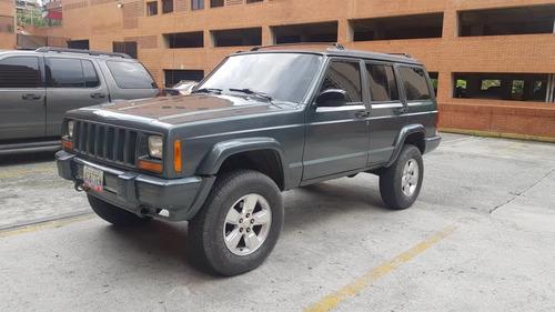 jeep cherokee 1998 motor 4.0 gris 5ptas