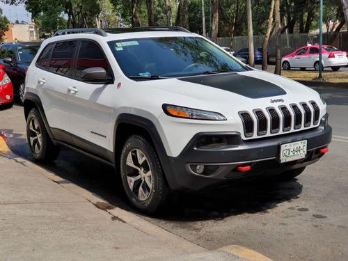 jeep cherokee 2014 trail hawk papeles en orden todo pagado!!