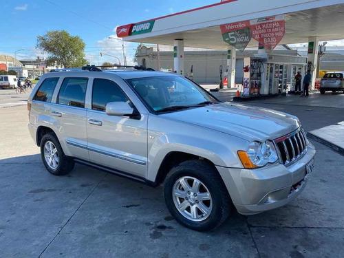 jeep cherokee crd 3.0 2009 130.000 cuero automatica permuta