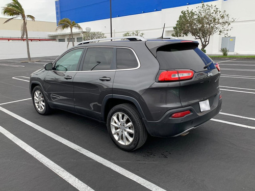 jeep cherokee limited 2016 aut. 5 ptas. gris oscuro