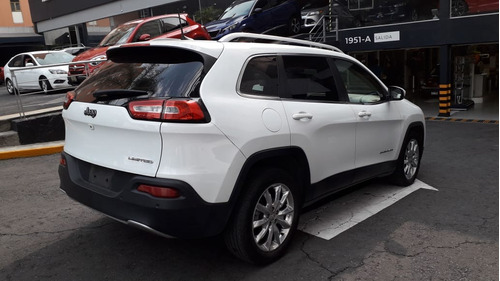 jeep cherokee limited premium at color blanco 2017
