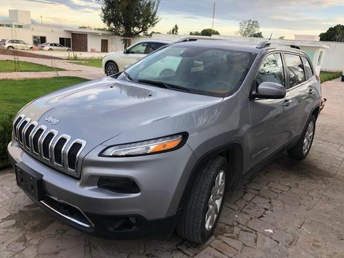jeep cherokee limited unico dueño factura de agencia cambio