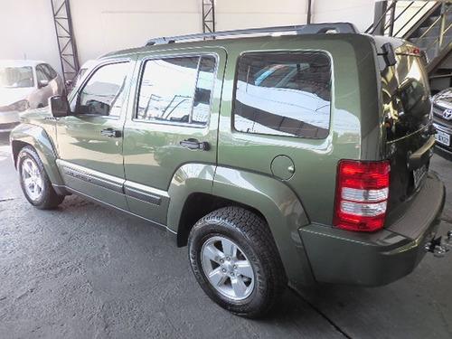 jeep cherokee sport 3.7 4x4 2009 verde revisada