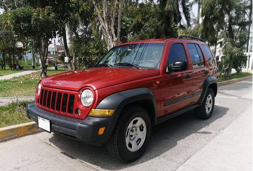 jeep cherokee sport 4wd (liberty) del año 2006
