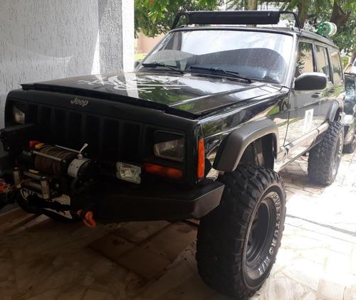 jeep cherokee sport 4x4 offroad monster (troller,jemy,engesa
