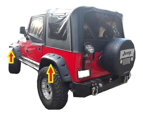 jeep cj 5 cj 6 cj7 willys ampliaciones  wrangler burbujas