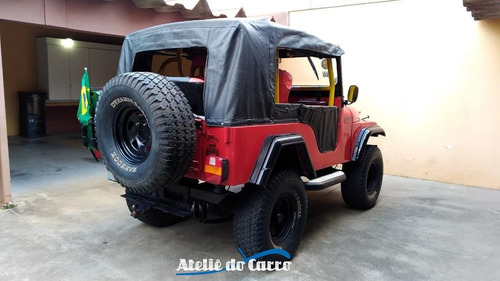 jeep cj5 4x4 1964 pronto para trilha - ateliê do carro