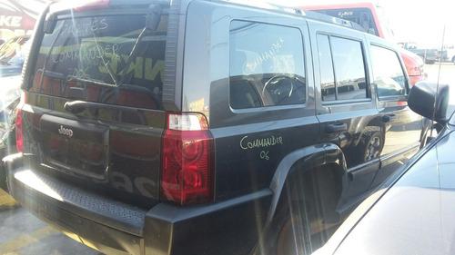 jeep comander 2006 automática v6 motor 3.7 lit x partes
