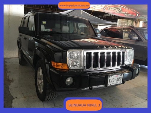 jeep commander 2006 blindada nivel 3