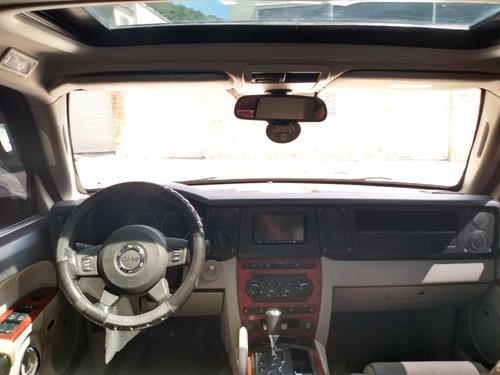 jeep commander 2007 blindada nivel iii 8.000 d0l4res