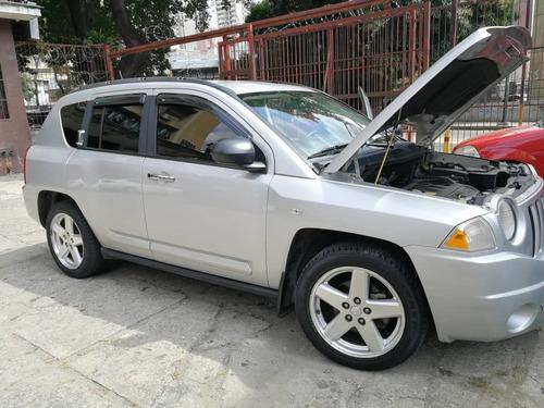 jeep compas li sport wagon 2009 color plata 5 puestos