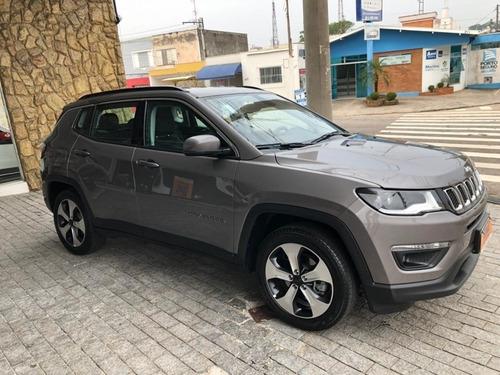jeep compass 2.0 16v flex longitude automatico 2018/2018