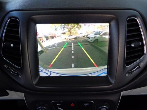 jeep compass 2.0 longitude aut.(flex) branco pérola 2018