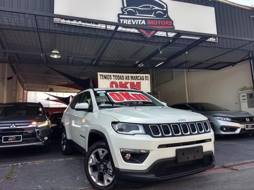 jeep compass 2.0 longitude diesel 4x4 pack premium 2020 0km