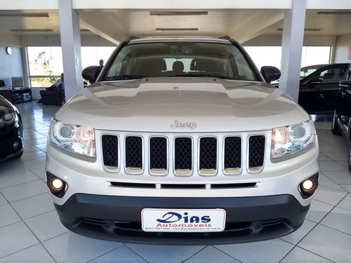 jeep compass 2.0 sport 4x2 16v 2012 prata gasolina