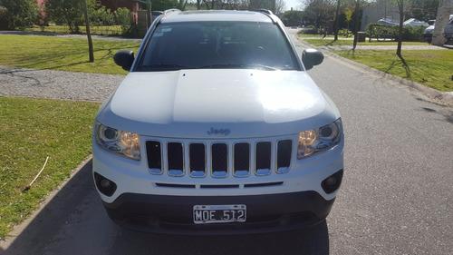 jeep compass-2013-65000 km-impecable-dvd en techo original-
