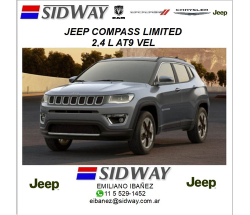 jeep compass 2.4 limited ei sin techo
