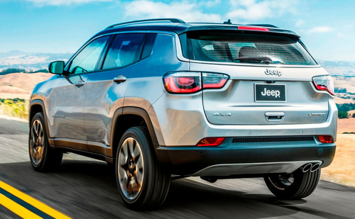 jeep compass 2.4 limited premium 180hp at piel sunroof gps