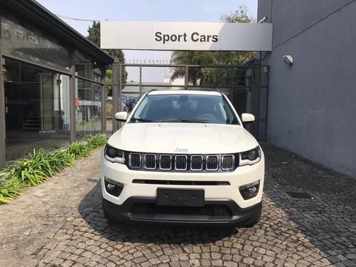 jeep compass 2.4 longitude plus at6 0km sport cars entrega