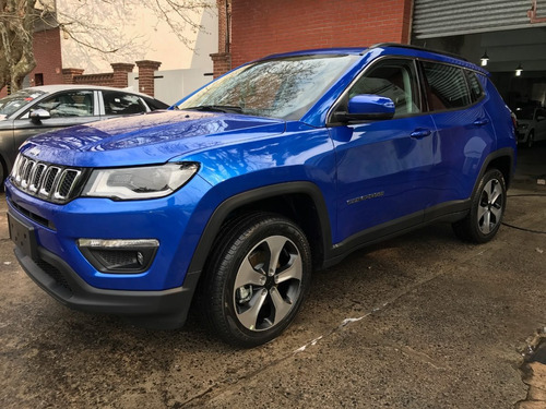 jeep compass 2.4 longitude plus sport cars at9 4x4 stock