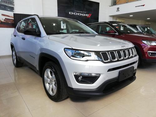 jeep compass 2.4 sport 0km 2018 al mejor precio