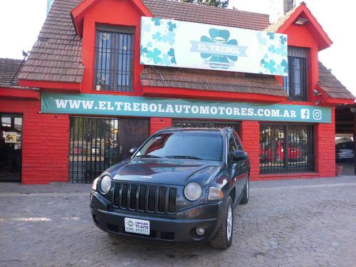 jeep  compass 2.4 sport 2008 gris nafta