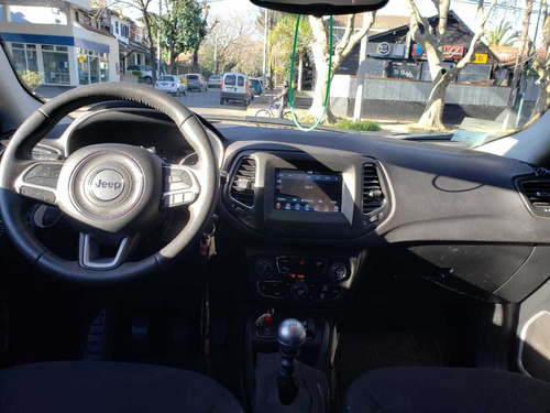 jeep compass 2.4 sport, anticipo mas cuotas, financio
