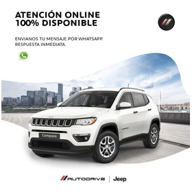Jeep Compass 2.4 Sport Mt My20