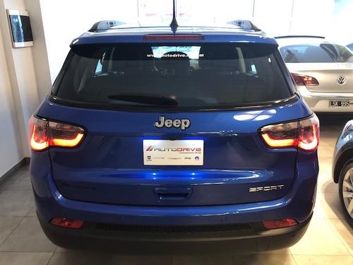 jeep compass 2.4 sport oportunidad a tasa 0% real