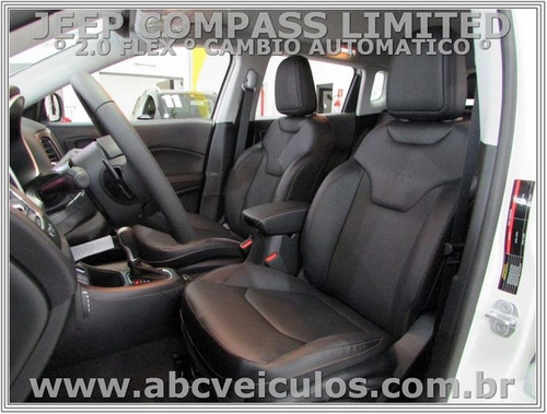 jeep compass limited  2.0 flex - automático 2017/2018 - 1031