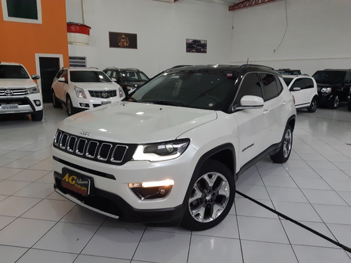 jeep compass limited 2017 branco 2.0 flex aut top multimidia