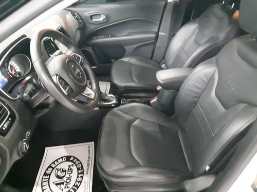 jeep compass limited 2017 branco 2.0 flex aut top multimidia