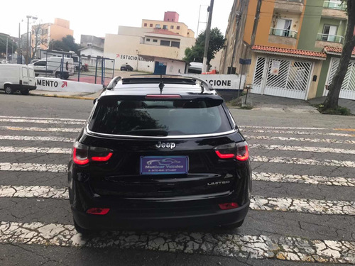 jeep  compass limited 2017    c/ teto solar  e banco caramel