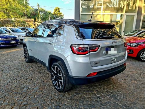 jeep compass limited plus 2.4 4x4 at9 2018 t/usado! fcio.